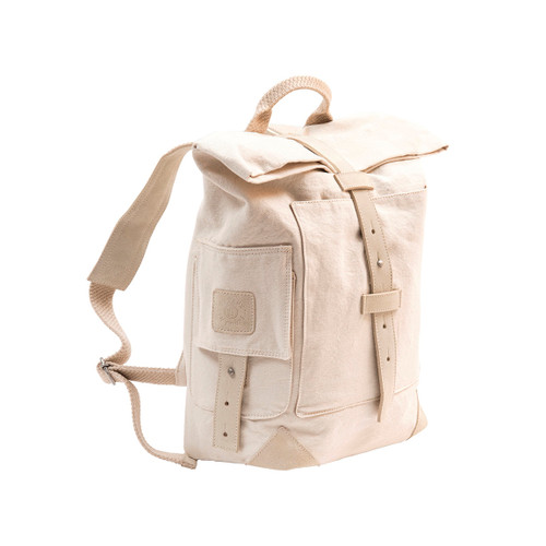 Canvas Backpack by Travaux En Cours