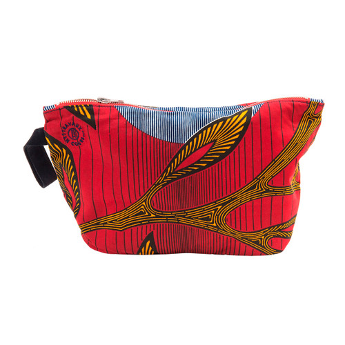 Printed Accessory Pouch by Travaux En Cours