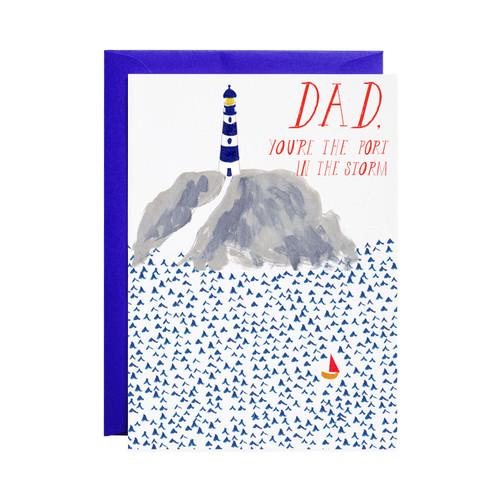 Little Lost Sailboat Father's Day Card by Mr. Boddington's Studio