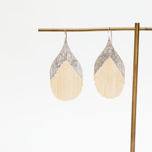 Nouveau Earring by Hannah Keefe