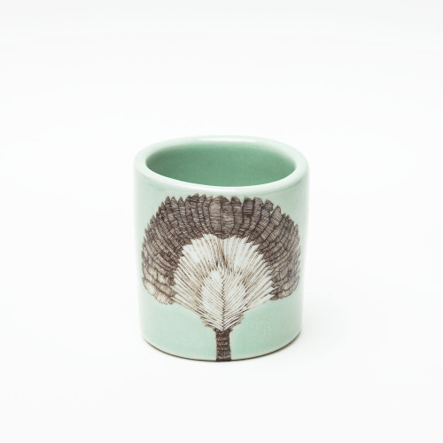 Traveler's Palm Cup by SKT Ceramics