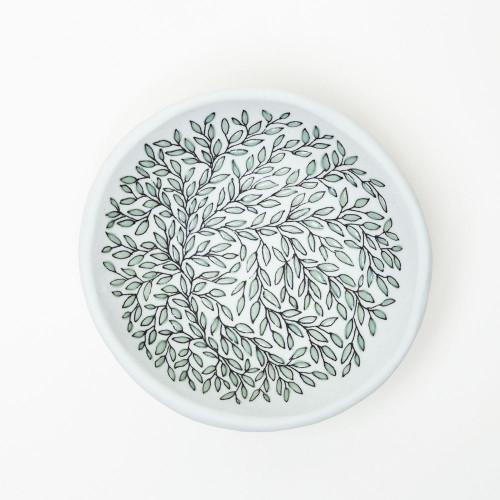 Vine Print Dish by SKT Ceramics