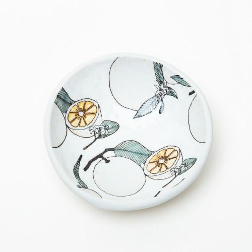 Orange Dish by SKT Ceramics