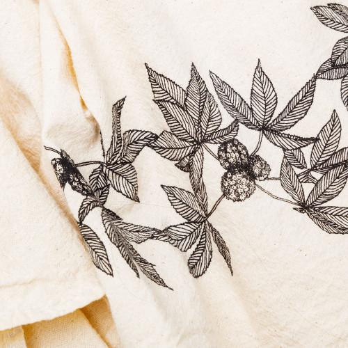 Buckeye Kitchen Towel by SKT Ceramics