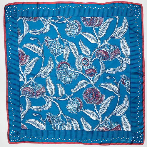 Youngiana Mallee Silk Twill Scarf by Utopia Goods