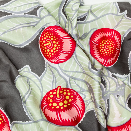 Mottlecan Silk Twill Scarf by Utopia Goods