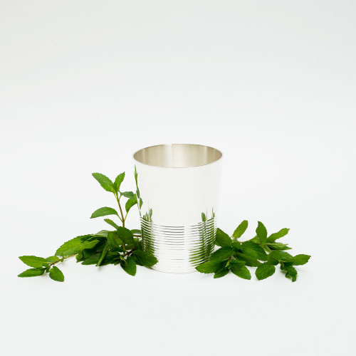 Ribbed Julep Cup by Corbell Silver