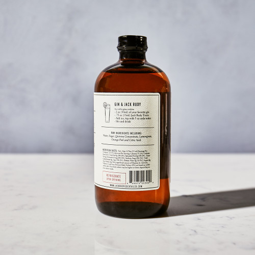 Classic Tonic Syrup by Jack Rudy Cocktail Co.
