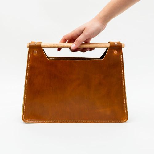 Dowel Handbag by Iron Rivet