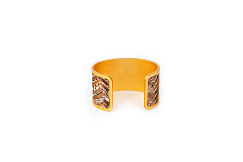 Julie Wide Cuff by Brackish