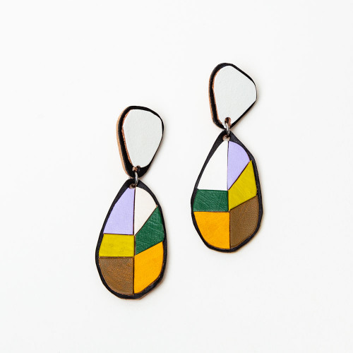 Citrus Drop Earrings by Molly Virginia Made