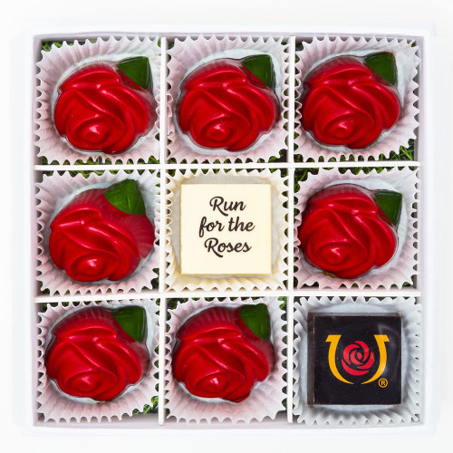 Run for the Roses Chocolate Box by Maggie Louise Confections