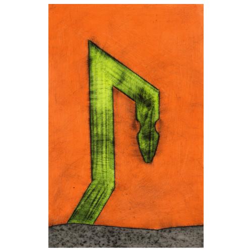 Untitled (2) by Fletcher Williams III (framed)