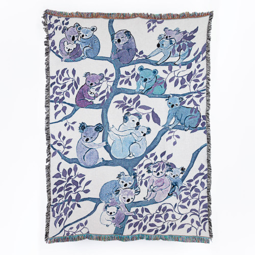 Koala Blanket by Olivia Wendel