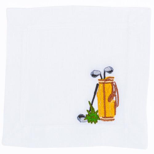 Golf Bag Napkin Set by Lettermade