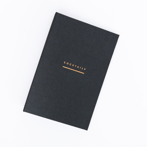 Cocktail Recipe Binder by Moglea