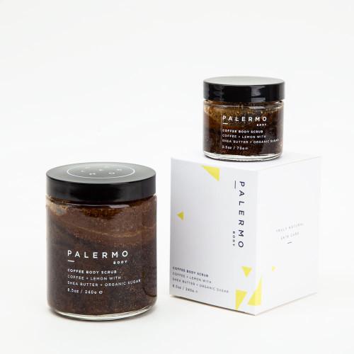 Lemon Coffee Scrub by Palermo Body