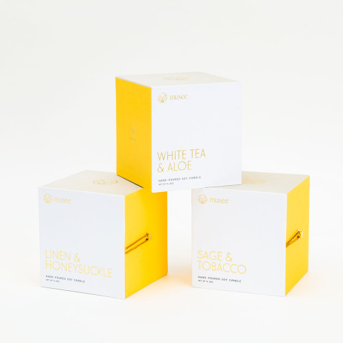 Soy Candle by Musee