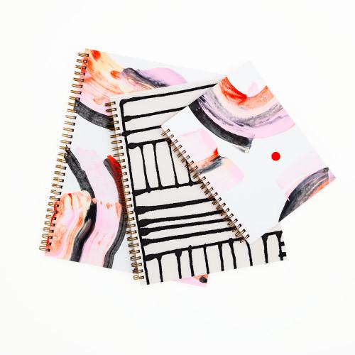 Osaka Painted Notebook by Moglea