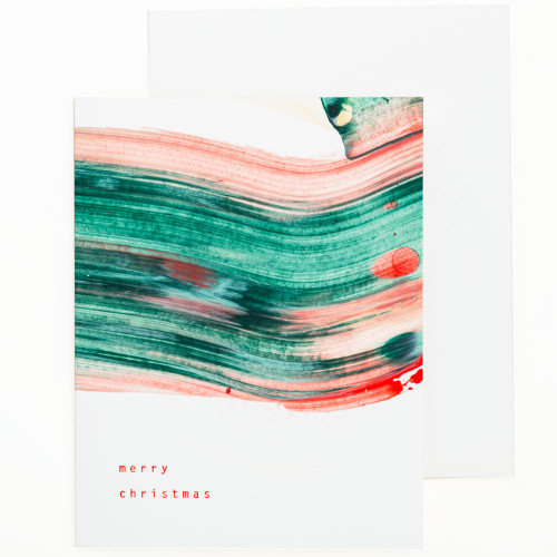 Swirl Holiday Cards (Set of 6) by Moglea