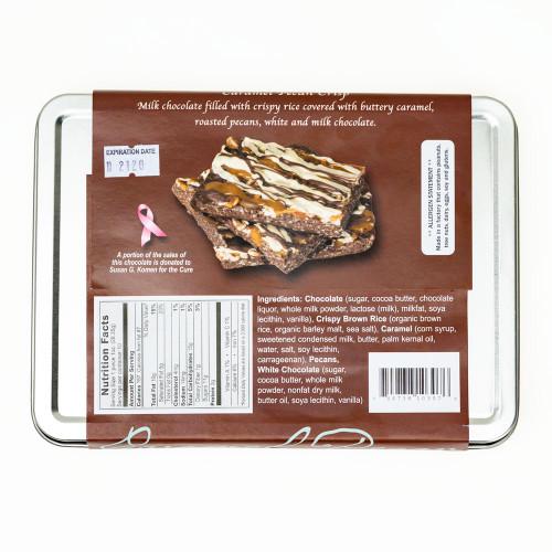 Caramel Pecan Bella Bark by Colts Chocolate Co.