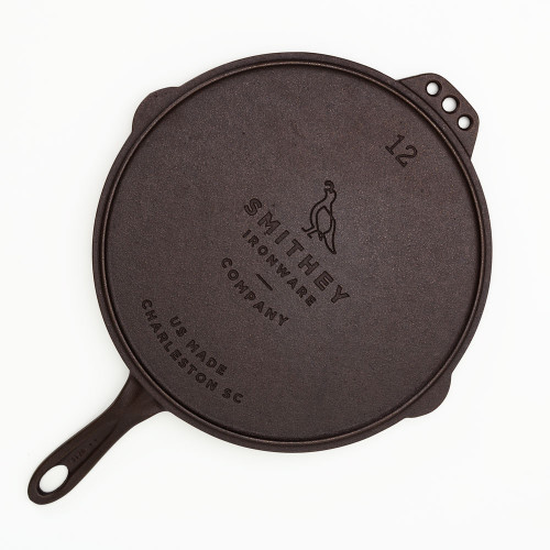 Flat Top Skillet Bundle by Smithey Ironware Co.