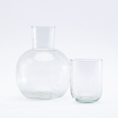 Seeded Carafe with Glass by Sir/Madam
