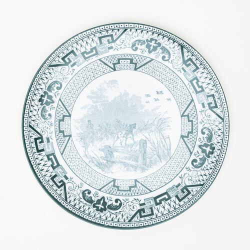 Exclusive Yorkshire Melamine Plate by Grace Charles Design Studio