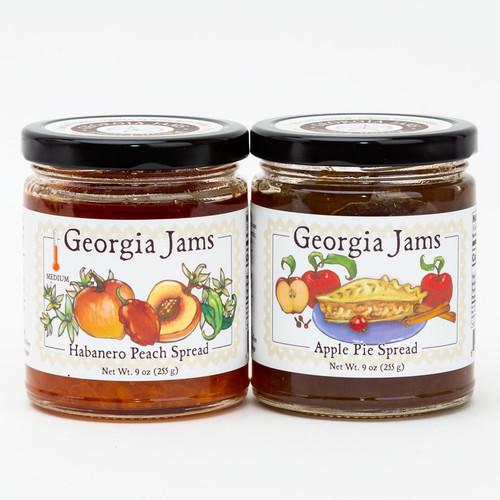Peach Habanero Jam by Georgia Jams