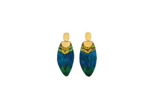Campbell Earrings by Brackish