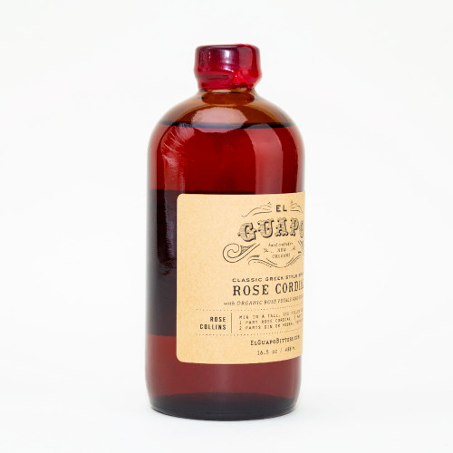 Rose Cordial Syrup by El Guapo