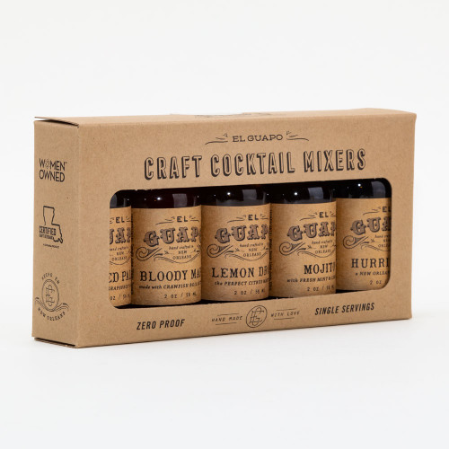 Craft Cocktail Mixer Gift Box by El Guapo
