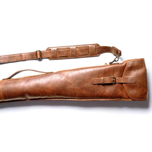 Leather Gun Sleeve by Tom Beckbe