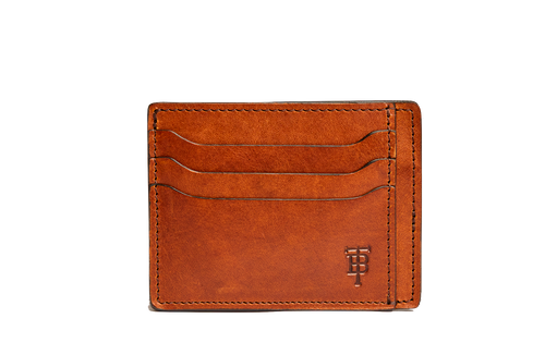 Chestnut Slim Wallet by Tom Beckbe
