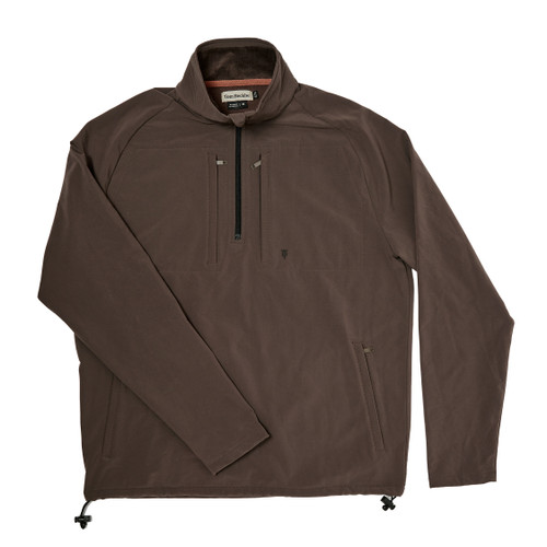 Men's Highland Grey Performance Quarter Zip by Tom Beckbe