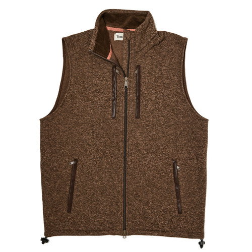 Hickory Knit Vest by Tom Beckbe