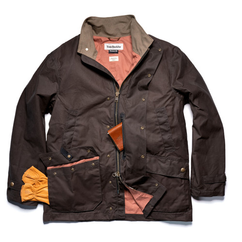 Men's Rye Brown Tensaw ES Jacket by Tom Beckbe