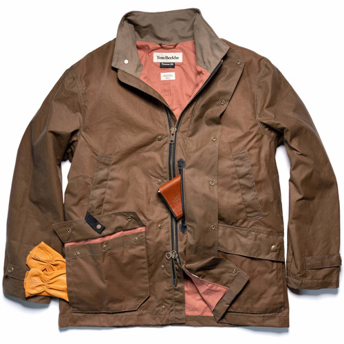 Men's Tobacco Tensaw Jacket by Tom Beckbe