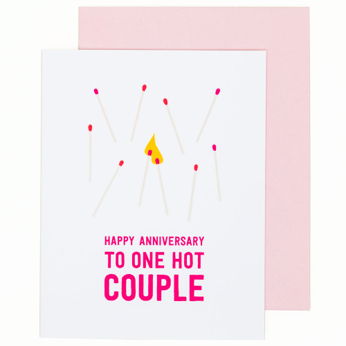 Hot Couple Anniversary Card by Graphic Anthology