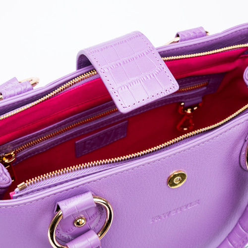Michelle Lilac Bag by F&W Style