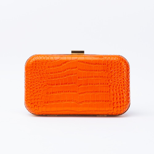 Rose Orange Clutch by F&W Style