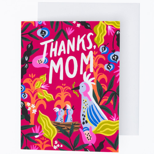 Thanks Mom Card by Idlewild Co.