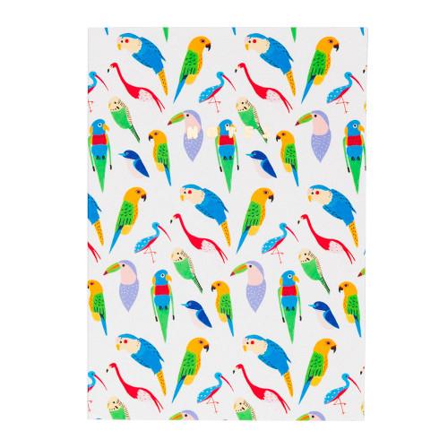 Parrot Notebook by Carolyn Suzuki