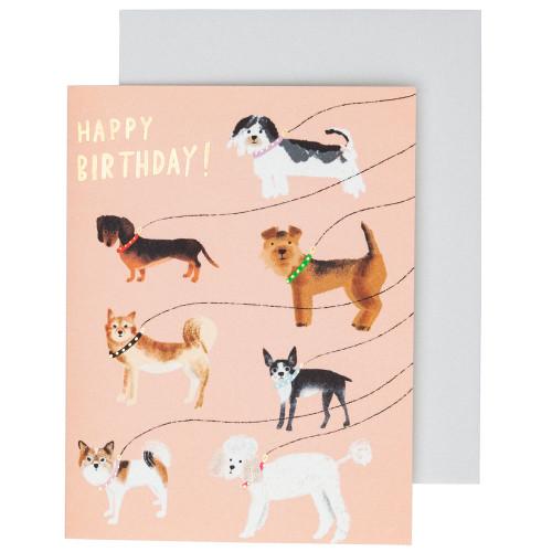 Out for a Walk Birthday Card by Carolyn Suzuki