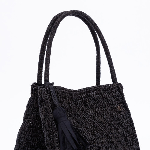 Zoe Handbag Black by Maison Paris