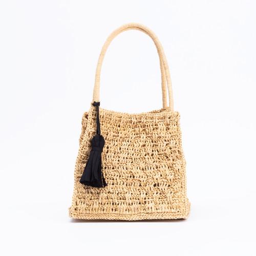 Zoe Handbag Natural by Maison Paris