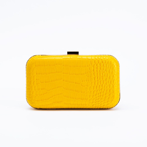 Yellow Rose Clutch by F&W Style