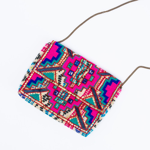 Ava Clutch by Ethnique