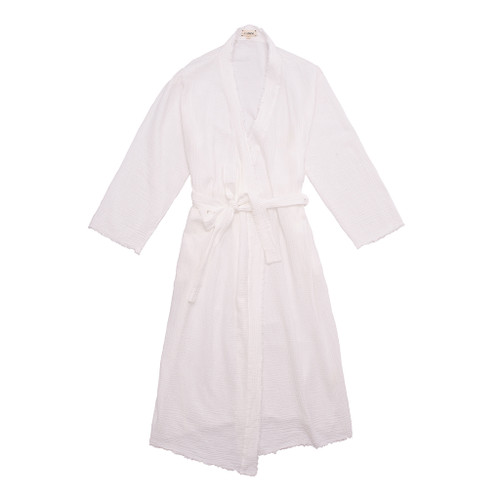 White Maria Robe by Campo Collection