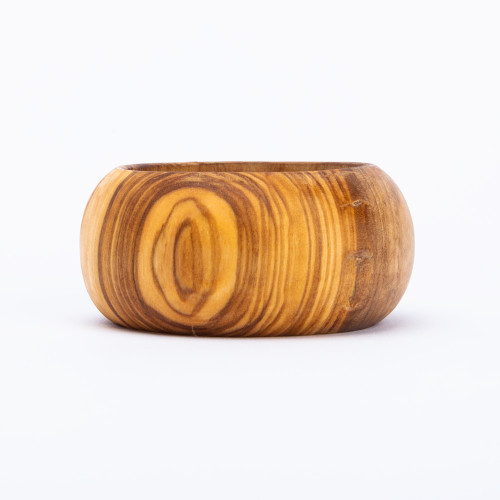 Olive Wood Napkin Ring by Be Home